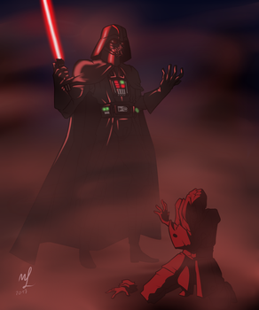 Hunting down the Jedi by Koalchan
