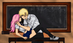 Narusaku_Alone_By_P.S.Bunny by PinkSugarBunny