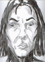 Snape by Dinahleit