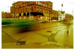 Yellow intersection by Evaloir
