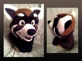 Red Panda Fursuit [Sold] by NightFell