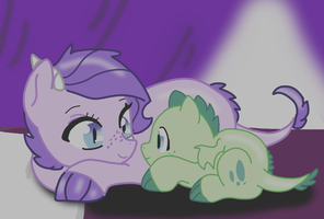 Promise(Colored) by KittensDraws