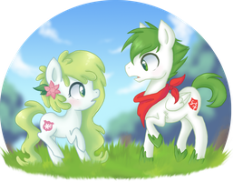 .:Gift:. First meeting by Ne-chi