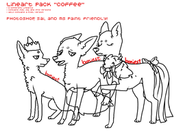 Lineart Pack 'Coffee' by boniest