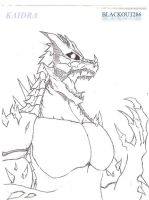 Kaidra, My Main Original Kaiju by Blackout286