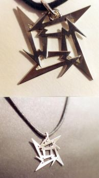 Metallica pendent by YiorYeosa