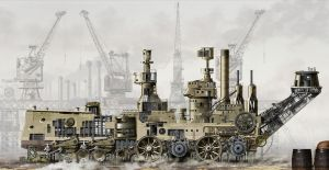 BATTLE CRAWLER CONSTRUCTION by studio-octavio