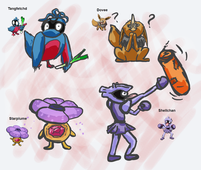 Pokefusions by Sutefu-Kasaichi