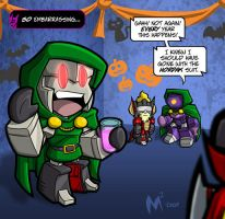 LilFormers - Happy Hallowe'en by MattMoylan