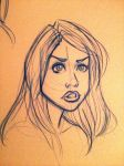 Rose Tyler Sketch 2 by Chansey123