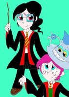 Lucky Fred characters in harry potter by AsmodeodeSinan