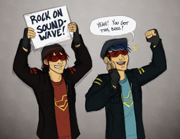 TF - Soundwave Fanboys by JadeRaven93