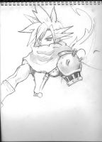 Cloud Strife by DanMD
