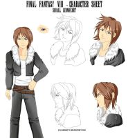 Squall character sheet by Khaneety
