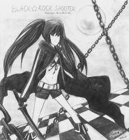 Black Rock Shooter by AlexaClyne