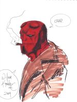 Hellboy from Chicago Comic Con by WKenney