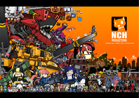 10 years of animaton. by NCH85