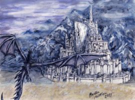 Minas thirithn by Mobicca