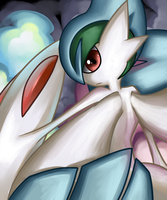 Mega Gallade by Yami-Child