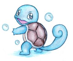 Squirtle by shiroiwolf