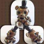 Golden Freddy from Five Nights at Freddy's Two by the-caffiene-panda