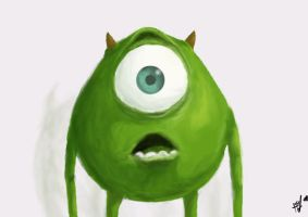 Mike Wazowski by ShortBusHeroes