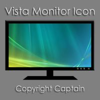 Vista Monitor Icon by CaptTechDude514