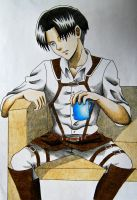 Rivaille by angelwithoutsoul89