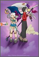 Death Duo by Frhaine-Shaia