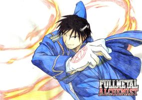 FMA - Roy Mustang by Pencil-Fluke