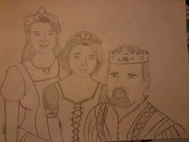 The Regal Family of Corona by supereilonwypevensie