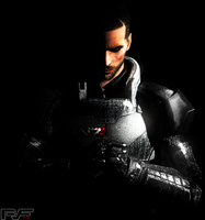 Shepard Outlight Art by PVF73