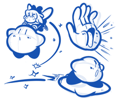 Kirby Kirby Kirby Sketches by JamesmanTheRegenold