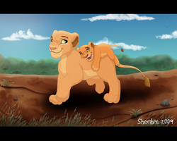 Mama an' Me by LionKingPride