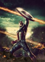 Avengers : Age of Ultron - Captain America by NO-LooK-PaSS