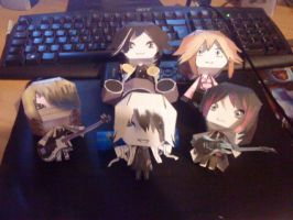 The gazette papercraft by Akishan-creation
