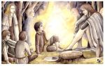 Meeting with the Elves by peet