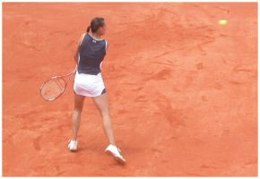 backhand of Flavia Pennetta by tomegatherion