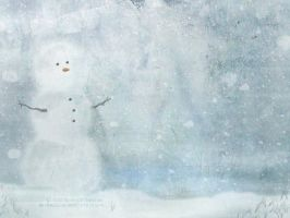 Just a Snowman by chasing-butterflies
