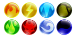 DotD Element Orbs by DragonOfIceAndFire