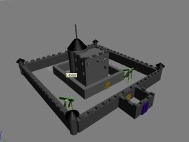 My very first 3D object by Valkyrie1981