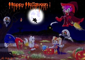 Happy Halloween by sonic and c by BlackBy