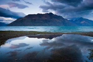 Blue Wakatipu by chrisgin