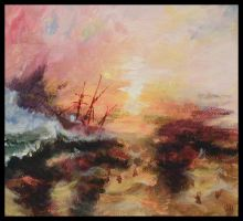 Turner Study by Alecueous
