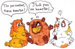 Parrot-Hamster by Birdy-Papa