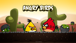 Angry Birds Wallpaper by M0M00