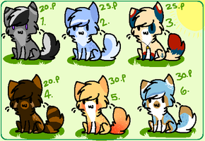 . Kitty adopt batch- Open . by HyperMuttAdoption