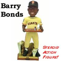 Barry Bonds Action Figure by Gzip16