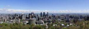 Montreal Panorama by KMourzenko