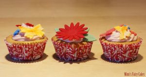 Vanilla Cupcakes by Cailleanne